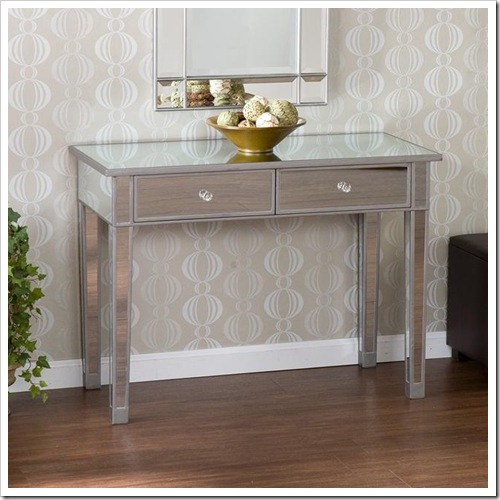 Funiture For Less: The Luxe For Less {Mirrored Furniture}