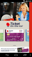 Screenshot of Ticket On-the-Go