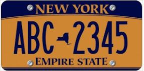 paris la dolce vita de nouvelles plaques d 39 immatriculation pour les new yorkais. Black Bedroom Furniture Sets. Home Design Ideas