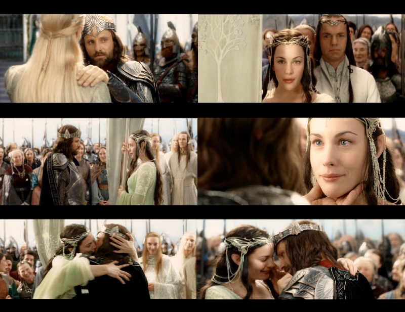 Aragorn and arwen wedding accept. The