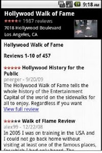 Hollywood Travel Guide GPS screenshot 6
