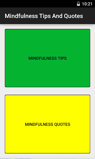 Mindfulness Tips Quotes