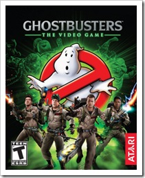 ghostbuster video game cover