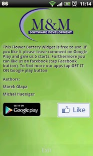 Flower Battery Widget - screenshot thumbnail