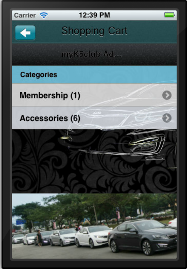 myK5club- screenshot
