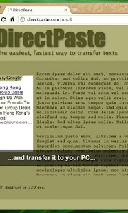 DirectPaste - screenshot thumbnail