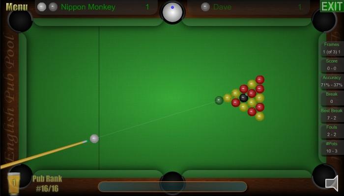 English Pub Pool Games Online Snooker Games Best Flash Games