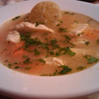 Sopa De Lima (Mexican Lime Soup)