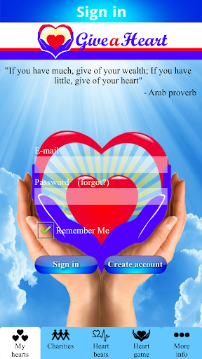 Give a Heart to Charity