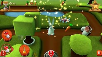 Screenshot of Bunny Maze HD