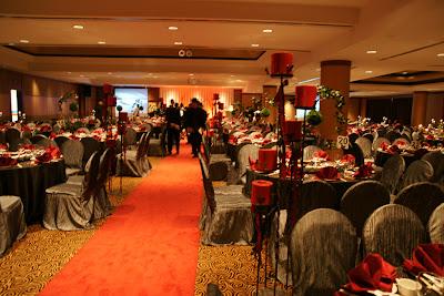 Red Ardor At The Atrium Ballroom
