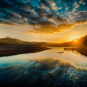 Ponte Preta by Marcos Lamas - Landscapes Sunsets & Sunrises ( #GARYFONGDRAMATICLIGHT, #WTFBOBDAVIS )