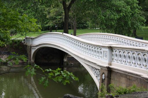 Central Park Bridge in New York.