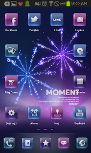 moment icon theme - screenshot thumbnail