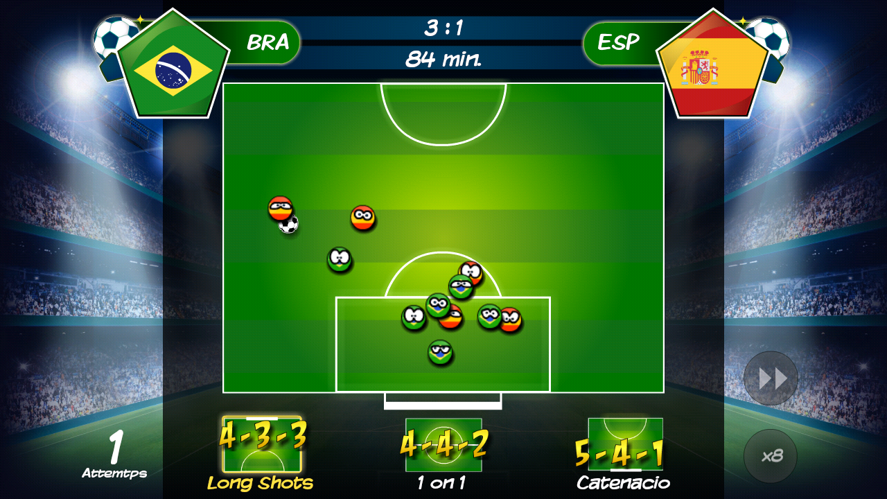 WTF: Top Soccer Manager- screenshot