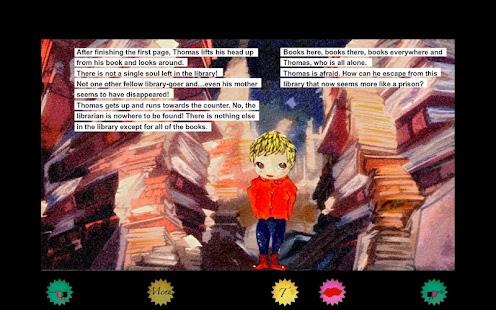 Thomas's Travels in Bookland- screenshot thumbnail