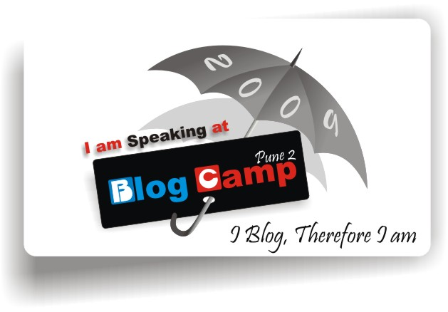 I am going to speak at Blogcamp Pune