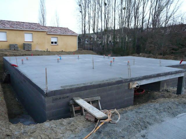 la construction de notre maison 09 le vide sanitaire. Black Bedroom Furniture Sets. Home Design Ideas