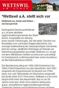 Wettswil am Albis - screenshot thumbnail
