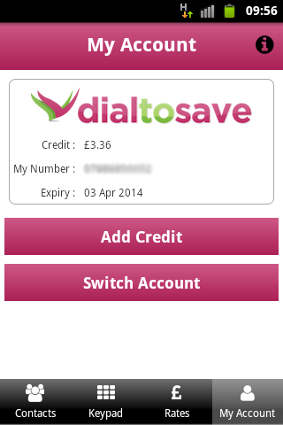 DialToSave: Cheap Calls Abroad- screenshot