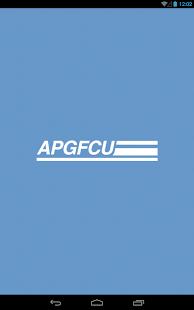 Mobile apgfcu banking