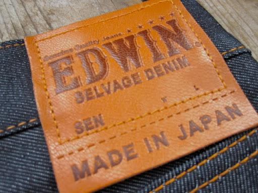 EDWIN Japan Men/'s /'London Black Slim/' Black Denim 4 Sizes BNWT!