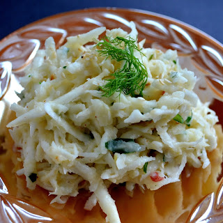 Creamy Celery Root and Fennel Slaw Recipe