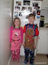 布莱恩和费利西亚的感恩节照片