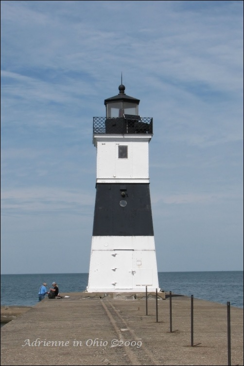 north pier light at Presque Isle State Park