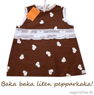 inspiration M  Pepparkaksklänning till marknaden 729f8aea7d7c4