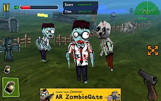 Screenshot of ZombieGate