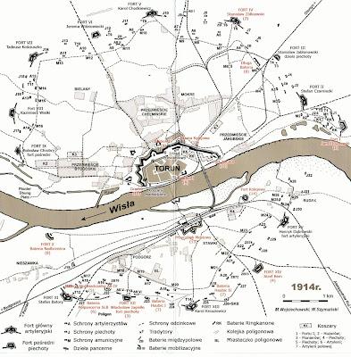 Twierdza Toruń w średniowieczu