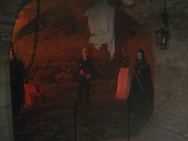 Podziemia zamku krzyżackiego - sala strachu