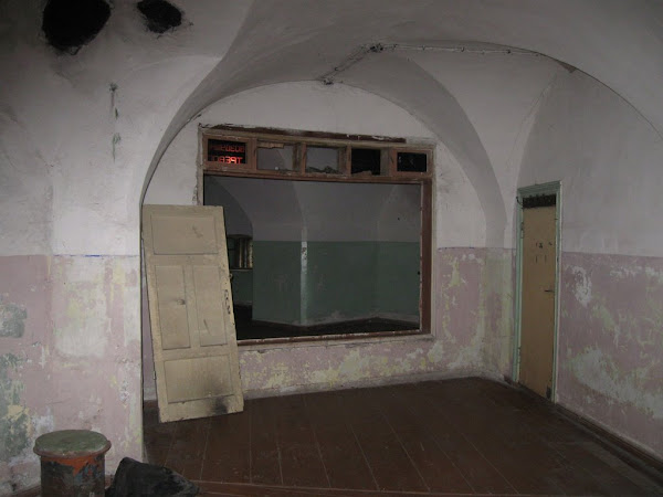 Fort Anioła - wnętrze