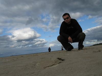 Na plaży w Świnoujściu