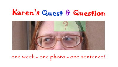 Karen's Quest and Question