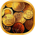 Gold and Money Live Wallpaper icon
