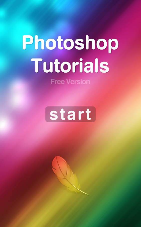 Tutorials for Photoshop - screenshot