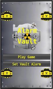 Alarm Vault an alarm game - screenshot thumbnail