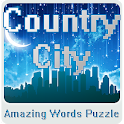 Country City - Words Puzzle icon