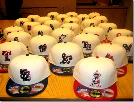 Fightin Phillies - blogging Phillies baseball  Memorial Day 2010 hats for  the MLB c3e2b8a4a0e