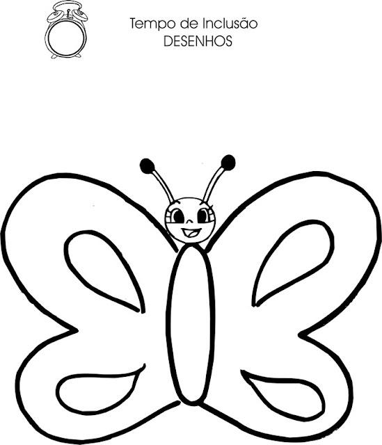 Dibujos Para Colorear De Abejas Y Mariposas