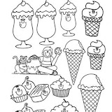 Dibujos De Alimentos Para Colorear Saludables Nutritivos