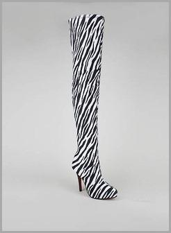Zebra Striped International Traveler Bag