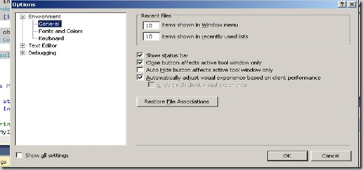 Visual Studio 2010, User Experience