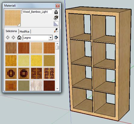Il blog di ulisse disegnare in 3d utilizzando google sketchup for Programma 3d semplice