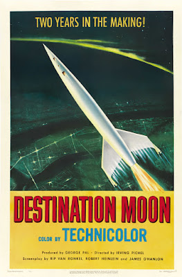 Destination Moon (1950, USA) movie poster
