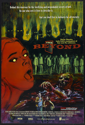 The Beyond (E tu vivrai nel terrore - L'aldilà / And You Will Live in Terror: The Beyond, aka Seven Doors of Death) (1981, Italy) movie poster