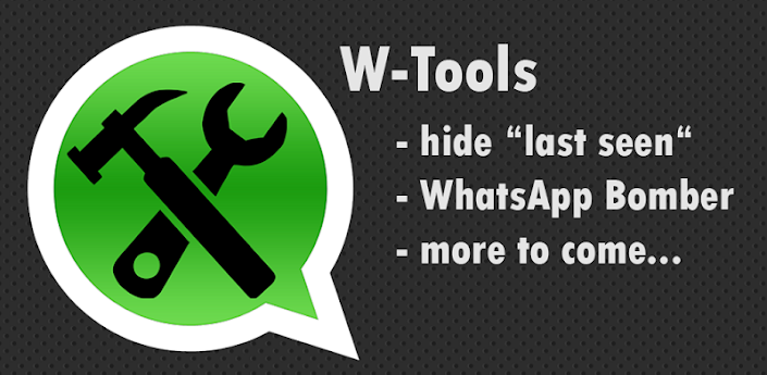 Tanto Viber y WhatsApp son aplicaciones que ofrecen a los usuarios de todas las principales plataformas de teléfonos inteligentes, como iOS, Android, Windows Phone y BlackBerry un solo canal de comunicación para sus servicios de mensajería en línea y las llamadas VoIP. La popularidad de estas aplicaciones es tal que a veces, otras aplicaciones se desarrollan con el fin de ajustar su funcionamiento, extender su funcionalidad, o para hacer que funcionen más rápido o más eficiente. W-Tools es una pequeña aplicación que te permite aparecen inactivo en WhatsApp pero aún asi leer los mensajes ademas te permite ocultar la opcion