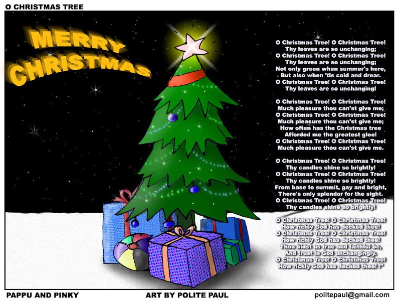 Pappu And Pinky: O Christmas Tree